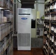 除湿量168升档案库房除湿机案例